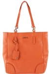 Joe's Jeans Swanky North South Shoppers Tote - Orange