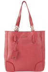 Joe's Jeans Swanky North South Shoppers Tote - Red