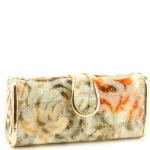 Jessica McClintock J9083121 Floral Rectange Clutch - Gold