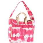 Juicy Couture Beach Tie Dye Tote-Pink