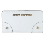 Juicy Couture Leather Continental Wallet - White