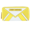Juicy Couture Leather Colorblock Zip Wallet -Yellow