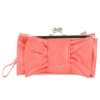Jessica Simpson Donna  Bow Wristlet Clutch-Coral