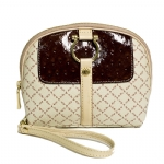 La Tour Eiffel E-10352-5 Clutch Bag - Cream/Red