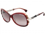 Affliction LIZETTE Sunglasses - Burgundy Silver