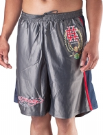 Ed Hardy Mens Sweat Pants Shorts Eagle - Grey