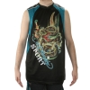 Ed Hardy Mens Dragon Shooter Sport Tank Top - Black