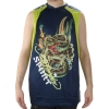 Ed Hardy Mens Dragon Shooter Sport Tank Top - Blue