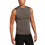 New Balance Compression Crew Neck Muscle Tank - Grey