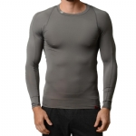 New Balance Compression Crew Neck T Shirt - Grey