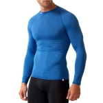New Balance Compression Crew Neck T Shirt - Royal Blue