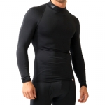 New Balance Thermal Compression Mock Long Sleeve - Black