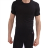 New Balance Compression Crew Neck T Shirt - Black