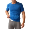 New Balance Compression Crew Neck T Shirt - Blue