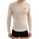 New Balance Baby Thermal Shirt - Oatmeal