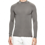 New Balance Thermal Compression Mock Long Sleeve - Grey