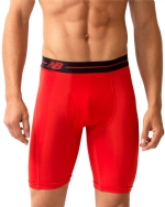 New Balance Performance 9'' Inseam Sport Brief - Red/Black