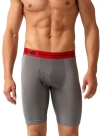 New Balance Performance 9'' Inseam Sport Brief- Grey