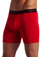 New Balance Performance 6'' Inseam Sport Brief- Red/Black