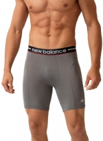 New Balance Lifestyle Boxer Brief-Grey