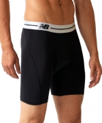 New Balance Performance 6'' Inseam Sport Brief - Black/White
