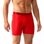 New Balance Performance 6'' Inseam Sport Brief- Red/Red