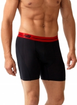 New Balance Performance 6'' Inseam Sport Brief- Black/Red