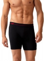 New Balance 2 Pair Essential Boxer Brief-Black