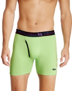 New Balance Men's Photoprint Boxer Brief Logo Print - Green Gecko