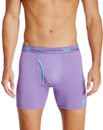 New Balance Men's Photoprint Boxer Brief Logo Print - Purple