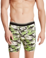 New Balance Men's Photoprint Boxer Brief Camo Print - Army