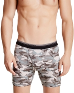 New Balance Men's Photoprint Boxer Brief Camo Print - Black