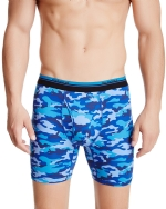 New Balance Men's Photoprint Boxer Brief Camo Print - Navy