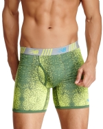 New Balance Men's Photoprint Boxer Brief Pixel Clash Print - Lime