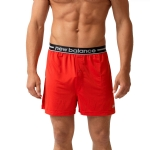 New Balance Lifestyle Boxer Short-Red