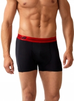 New Balance Performance 3'' Inseam Sport Trunk- Black/Red