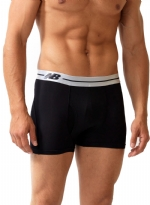 New Balance Performance 3'' Inseam Sport Trunk- Black/White