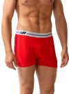 New Balance Performance 3'' Inseam Sport Trunk- Red