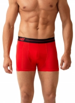 New Balance Performance 3'' Inseam Sport Trunk-Red/Black