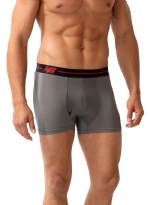 New Balance Performance 3'' Inseam Sport Trunk- Grey/Black