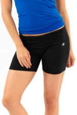 New Balance Fold Over Shorts - Black