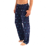 New Balance Microfleece sleepwear Pants - Deep Navy