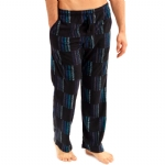 New Balance Microfleece sleepwear Pants - Black/Blue