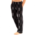 New Balance Microfleece sleepwear Pants - Black/Grey