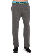 New Balance Men's Cotton Knit PJ Lounge Pant - Heather Grey
