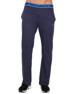 New Balance Men's Cotton Knit PJ Lounge Pant - Navy