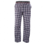 New Balance Men's  Woven Sleep Pants - Navy/Red