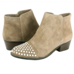 Steve Madden Praque Booties -Taupe