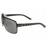 Affliction Rebel Sunglasses - Black/Silver