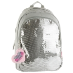 Skechers Twinkle Toes  Sequins Forever Backpack-Silver Star